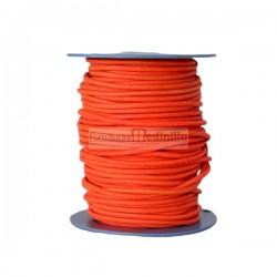 Orange fluor leather cord