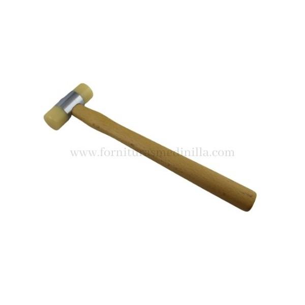 martillo de nylon para trabajos en cuero