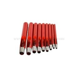 sacabocados cilindrico para trabajos en cuero, herramientas para el cuero, fornituras medinilla, ubrique
