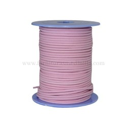B.Pink leather cord, 25 meters