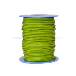 P.Green leather cord, 25...