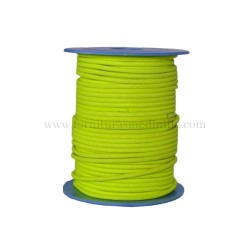 F.Yellow leather cord, 25...