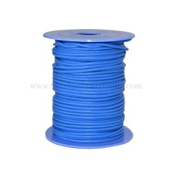 D.Blue leather cord, 25 meters