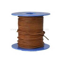 Whisky leather cord, 25 meters