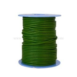 M.Green leather cord, 25...