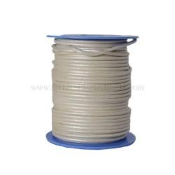 Cordones de cuero para la fabricacion de pulseras de cuero y colgantes de cuero, material para bisuteria al por mayor