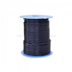 N.Blue leather cord, 25 meters