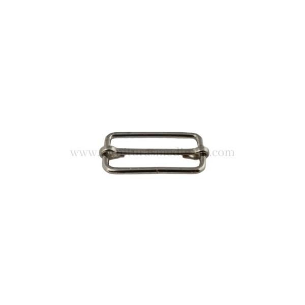 Vendemos hebillas correderas metalicas para cinturones en Ubrique