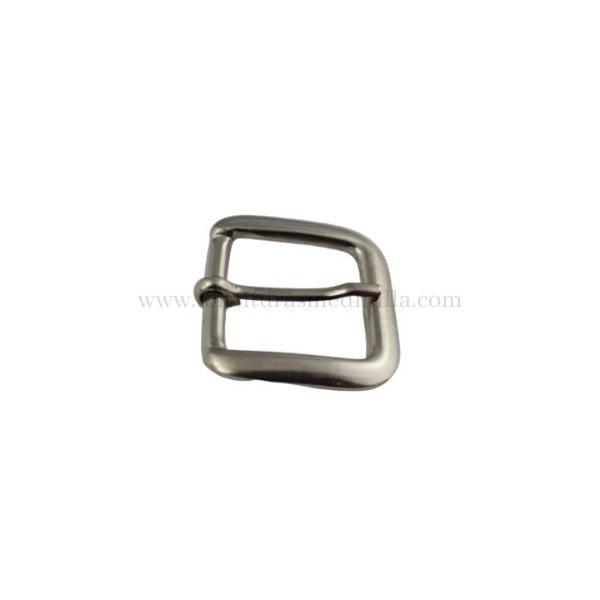 hebilla cinturon metalica para cinturones de piel en Ubrique, fornituras y accesorios para bolsos y marroquineria