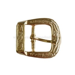 Engraved buckle 25 MM Gold