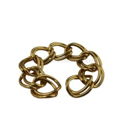 Cadena doble oro (20MM X...