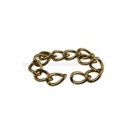 Gold chain (15MM X 3MM)