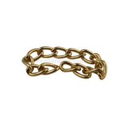 Gold chain (9MM X 2.5MM)