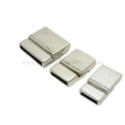 SILVER MAGNET CLASP