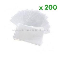 compra bolsas de plastico transparente para chuches, dulces y golosinas en Bornos