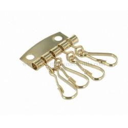 keychain with 4 hooks
