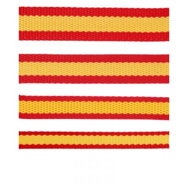 cinta nylon de españa para correas de perro y cabezadas